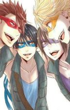 Loved By Four Guys | [TMNT! x Male!] by JinX_72