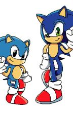 double troubles  (modern sonic x reader x classic Sonic) by animeloverU0