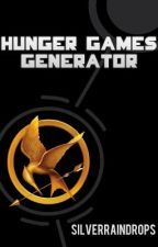 Hunger Games Generator by SilverRaindrops