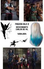 Frozen isle 2❄️🐾 descendants  by 4000HJ0004