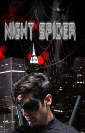 Night Spider by PeterParkerRomanoff