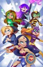 Webbed love: DC Superhero girls X male Demon Spider Reader by deadpoolmerkwiththem