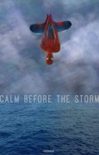 CALM BEFORE THE STORM | PERCY JACKSON by -voidfangirl