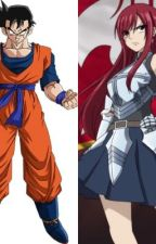 Future Gohan's Fairy Tail (F.Gohan x Erza Scarlet) by TevinMoore92