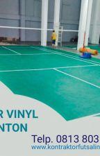 Harga Vinyl Lapangan Badminton - WA +62 813-8035-1143 - PROMO KHUSUS by SupplierLantaiVinyl
