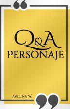 Q & A Personaje by SmileToTheKiller