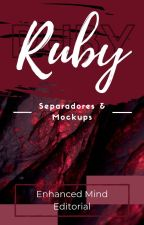 ―; Ruby ;― [SEPARADORES Y MOCKUPS] by Enhanced_Mind
