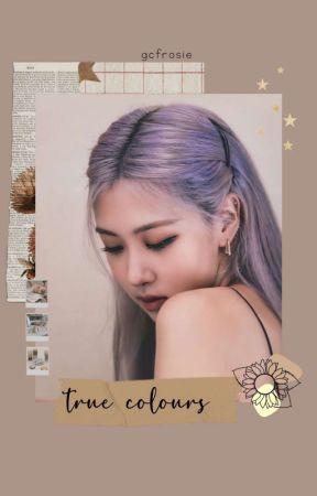 true colours | rosékook by gcfrosie