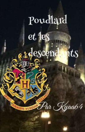 Poudlard et les descendants.  by Kyaa64