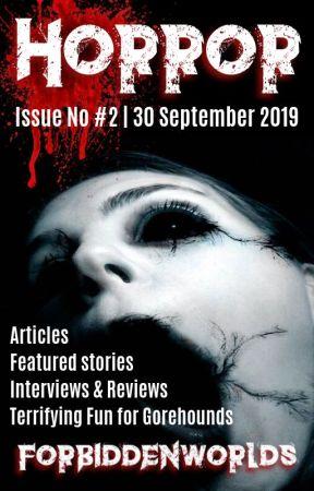 Horror Ezine   Issue No #2 by ForbiddenWorlds