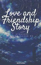 Inazuma Eleven GO : Love and Friendship Story (Tsurugi x Reader) by chatoyants