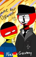 Same But Different // Countryhumans Third Reich x Germany  by MarkaiCat