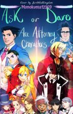 Ask/Dare Ace Attorney Characters by Monokuma12369