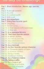 30 day oc challenge by ZoeSpook