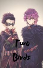 Two Birds (Damian x Raven) by Nicbelian