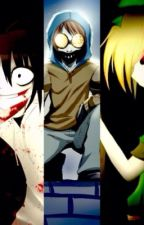 Vida peligrosa (Ticci Toby, Ben Drowned, Jeff the Killer y Ronie) by HatingDestiny