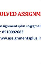 NMIMS DECEMBER 2019 ASSIGNMENT SOLUTIONS by monagra1974