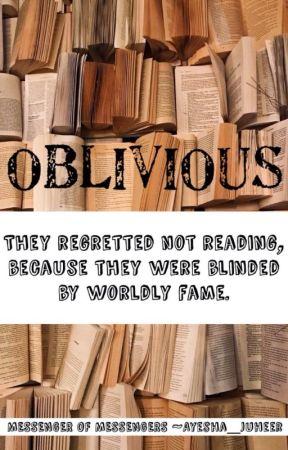Oblivious by Ayesha_Juheer