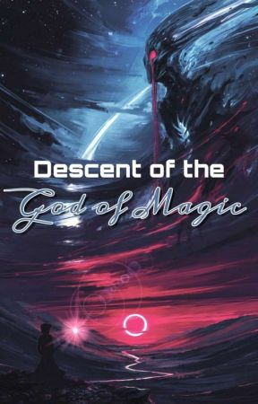Descent of the God of Magic by Cream_Pastel