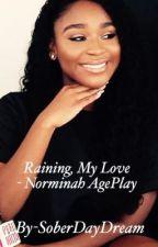 Raining, my love. -Norminah ageplay  by SoberDayDream