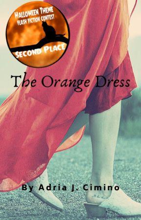 The Orange Dress by AdriaCimino