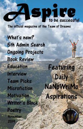 Aspire Magazine - November 2019 by TeamOfDreams