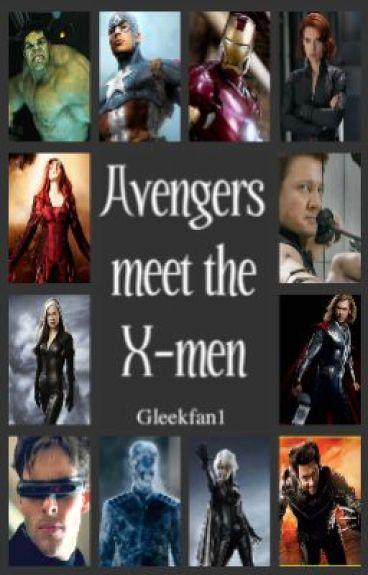The Avengers Meet The XMen by Gleekfan1