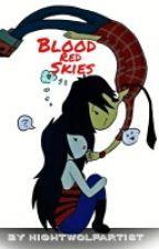 Blood Red Skies - Marshall x Marceline by NightWolfArtist