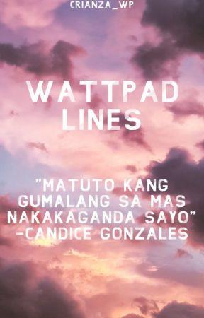 Wattpad Lines by Crianza_WP