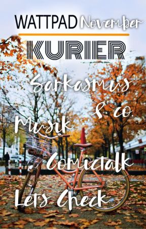Wattpad Kurier November 2019 by RedaktionWPKurier