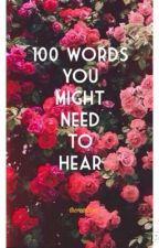 100 words you might need to hear by therendition