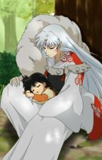 Sesshomaru and Rin by JezyWolf