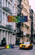 Hart met  drie puzzelstukken by ic_fml