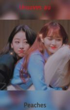 peaches || chuuves au by purplechoerrie