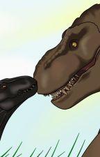 The queen and a criminal (Rexy x Indoraptor) by Endorita_Animator