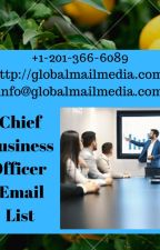 Chief Business Officer (CBO) Email List by luciasoni