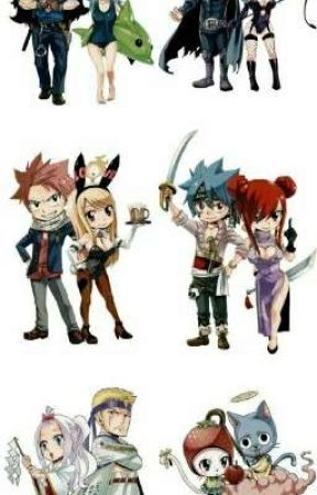"Programme descendant ""Fairy tail"" by teamfttpntg"