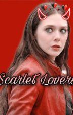 Scarlet Lovers • Wanda Maximoff  by _loki_spills_tea_