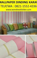BEST SELLER,Telp/WA : 0821-1552-4336, Jual Wallpaper Dinding Karawang by jualwallpaper