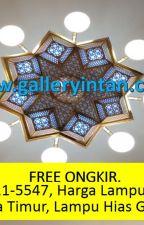 FREE ONGKIR, Call 0856-4211-5547, Harga Lampu Hias Gantung Masjid Jakarta Timur by LampuNabawiMurah1989