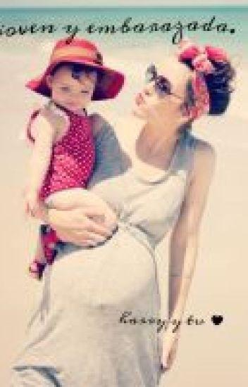 Joven y embarazada. ~ harry y tu ~