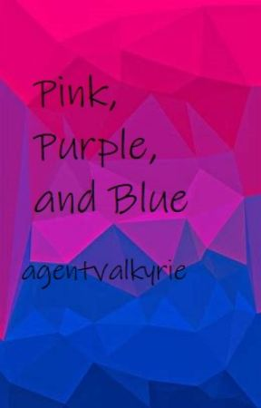 Pink, Purple, and Blue by agentvalkyrie
