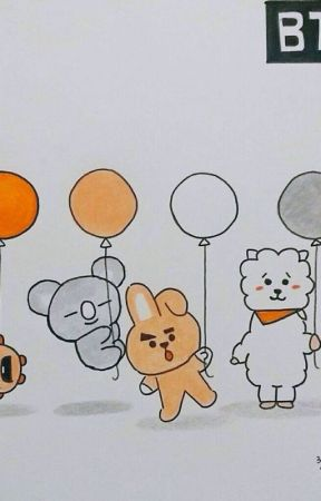 Bt21 and bts fanarts by Bluewolves8693