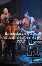 Rammstein quiz: Which member are you from R+? by EinFlammenmeer