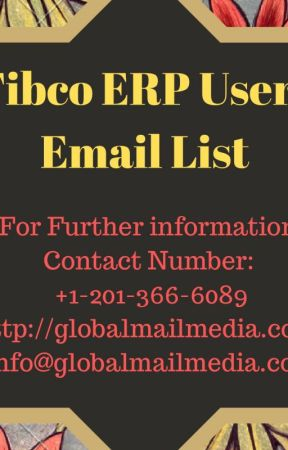 Tibco ERP Users Email List by luciasoni