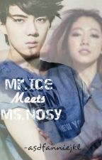Mr.Ice Meets Ms.Nosy [On-Going] by asdfanniejkl