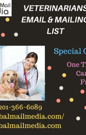VETERINARIANS EMAIL & MAILING LIST by luciasoni
