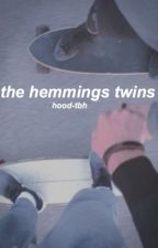the hemmings twins • 5sos by hood-tbh