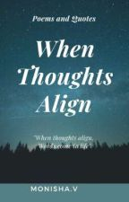 When Thoughts Align  by mon1sha