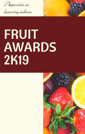 Fruit Awards 2k19 |||| OPEN  |||| by awards_graphics